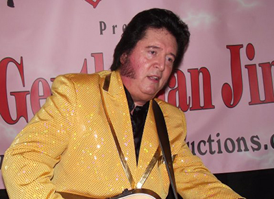 Gentleman Jim as Elvis